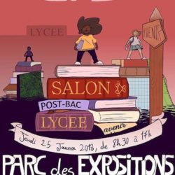 Affiche Salon Post-Bac du Lycée Avenir