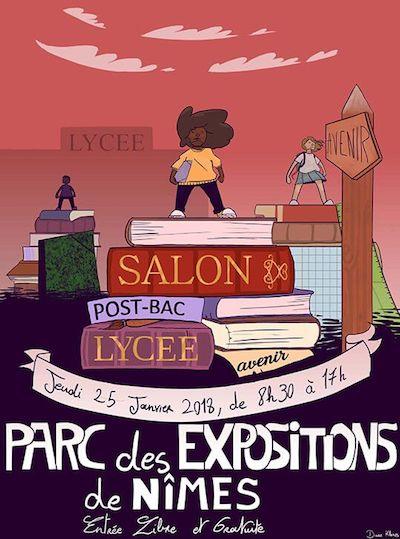 Affiche Salon Post-Bac du Lycée Avenir