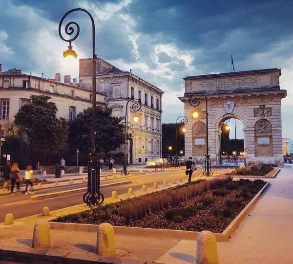 rue Foch à Montpellier
